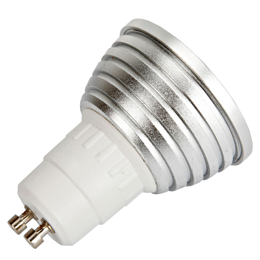 2pcs gu10 5w 400lm color changing rgb led light bulb w remote control 85 265v. Black Bedroom Furniture Sets. Home Design Ideas