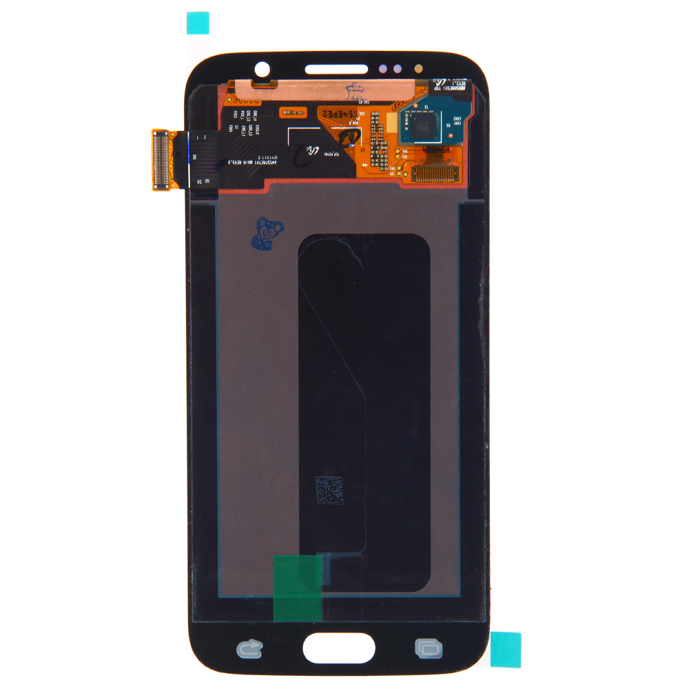 lcd display digitizer touch screen gold for samsung galaxy s6 g920a g920v g920t. Black Bedroom Furniture Sets. Home Design Ideas