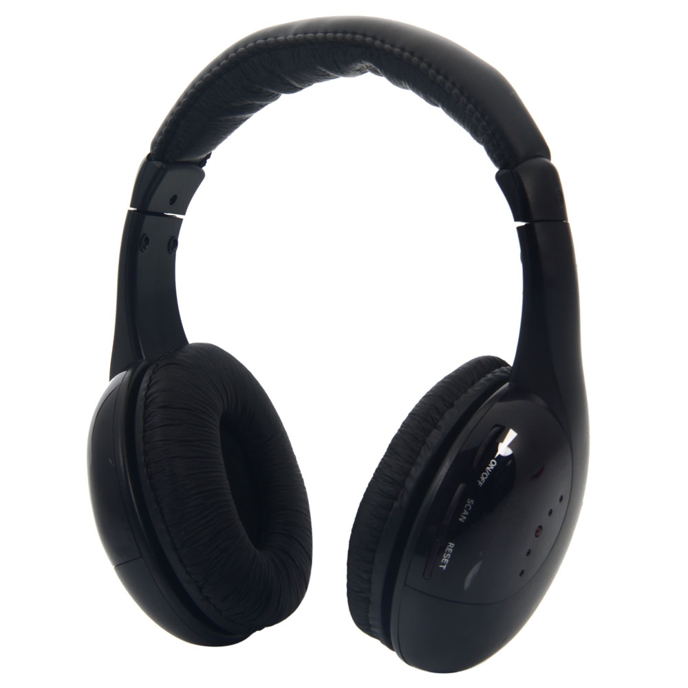 New Headset Wireless Smart Phone Stereo Music For: 5 In 1 Wireless Stereo Headphones Earphone Headset For MP3