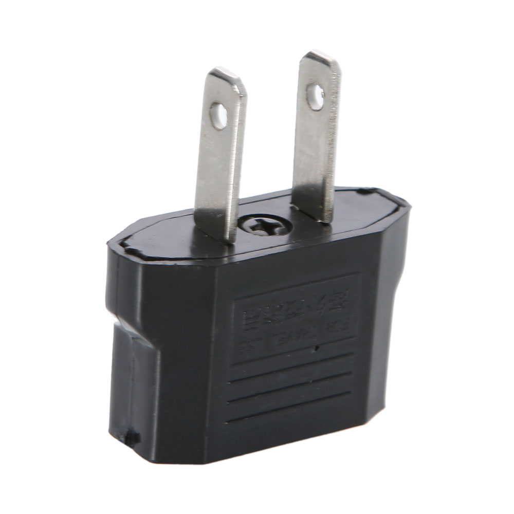 Eu To Aus Travel Adapter Qc2 0 Qc3 0 Adapter 9v 1 67a Android Adapter Realm Microsoft Xbox Wireless Adapter Xbox 360: New Black EU Euro To US Universal Travel Power Adapter