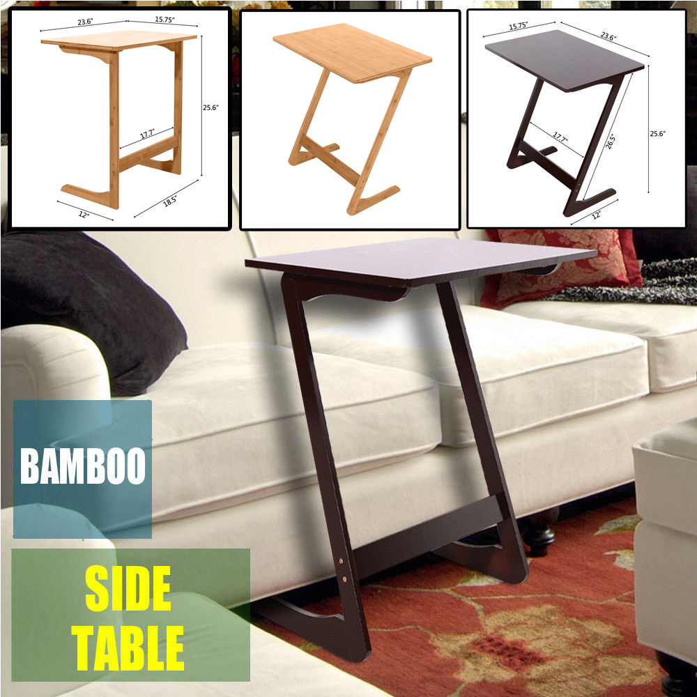 Tv Side Table.Details About Variety Sofa Table End Side Table Console Snack Tv Coffee Tray Pc Laptop Desk Us