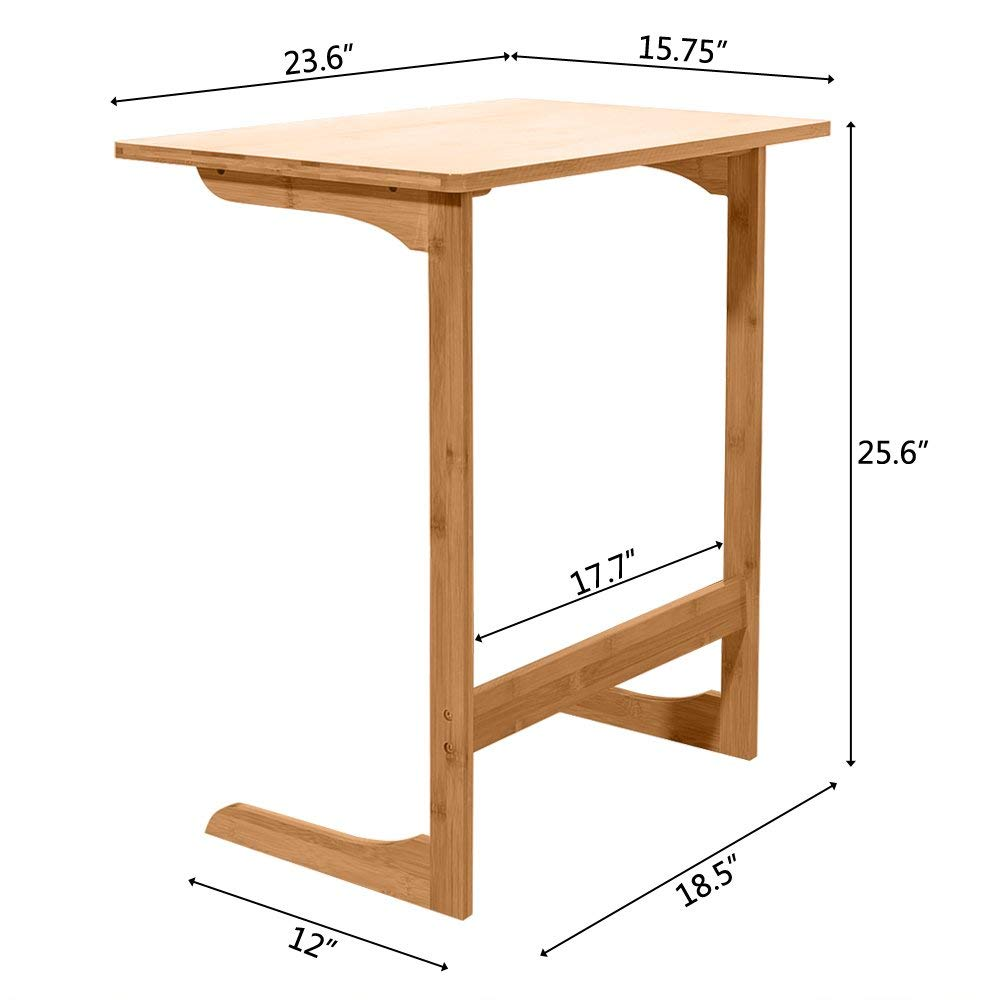 Variety Sofa Table End Side Table Console Snack TV Coffee Tray PC Laptop  Desk US