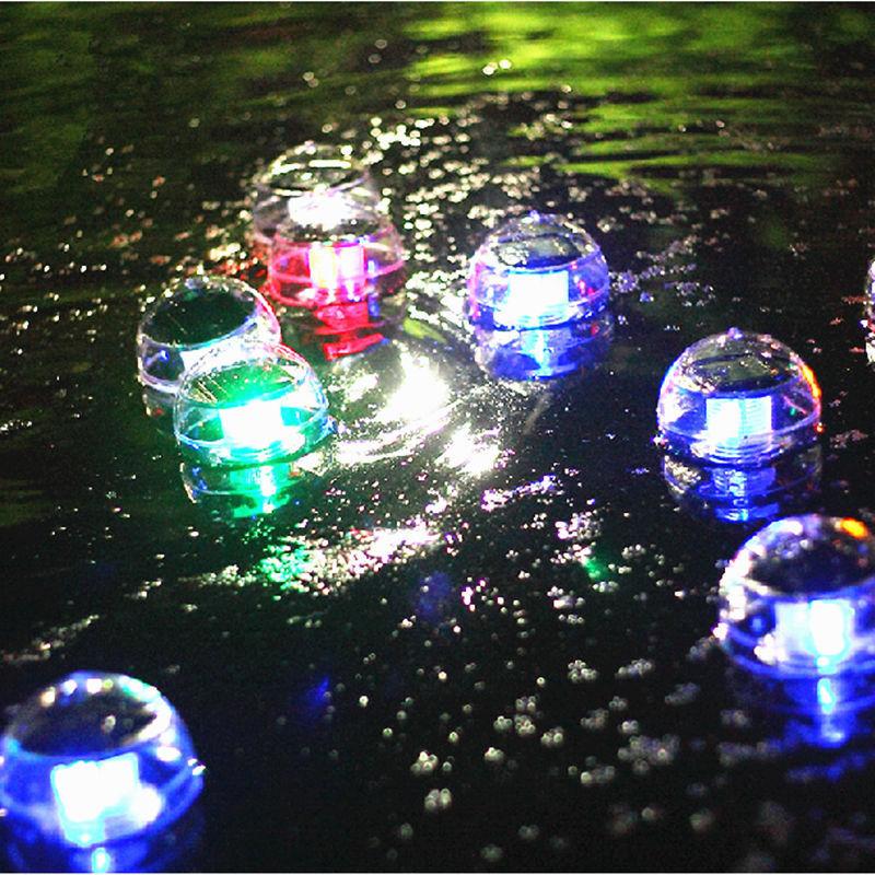 Outdoor Solar Led Floating Lights Garden Pond Pool Lamp