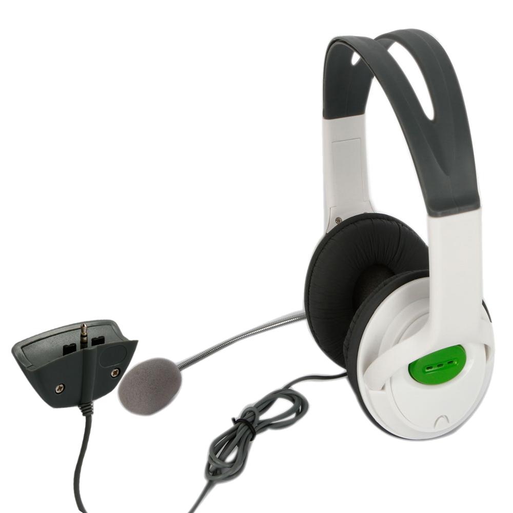 Headset Headphone W/mic For Xbox 360 Live Elite Slim
