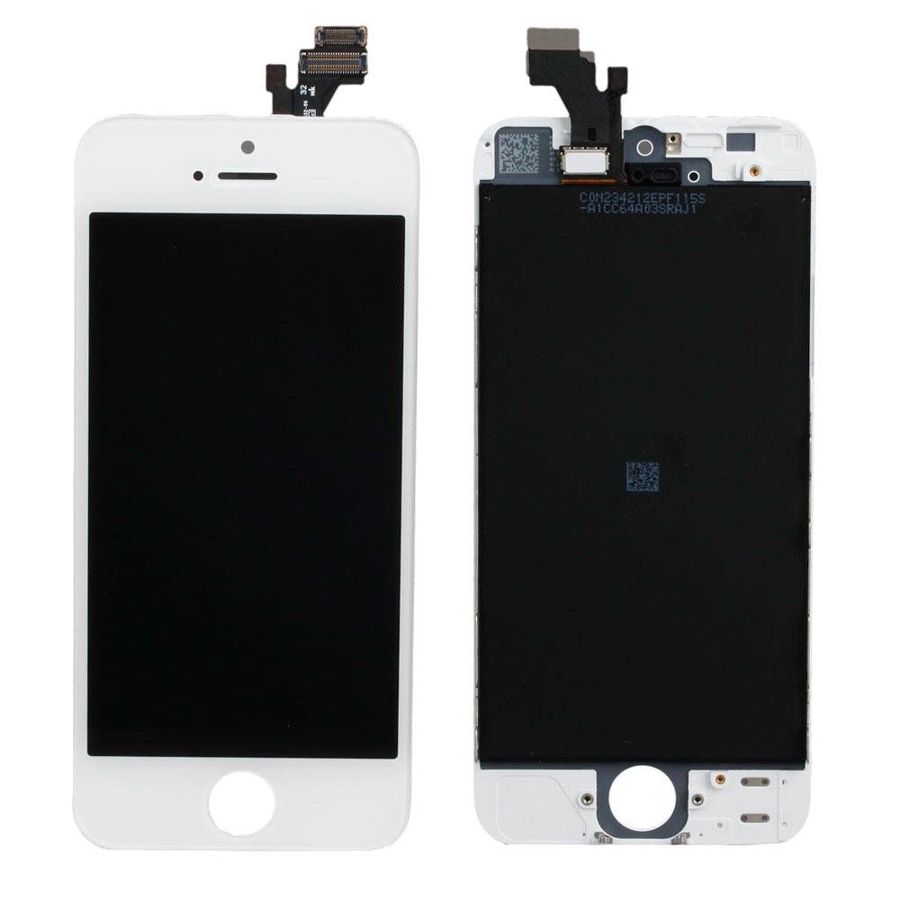 my iphone 5c screen went black lcd display screen touch digitizer frame assembly replace 19400