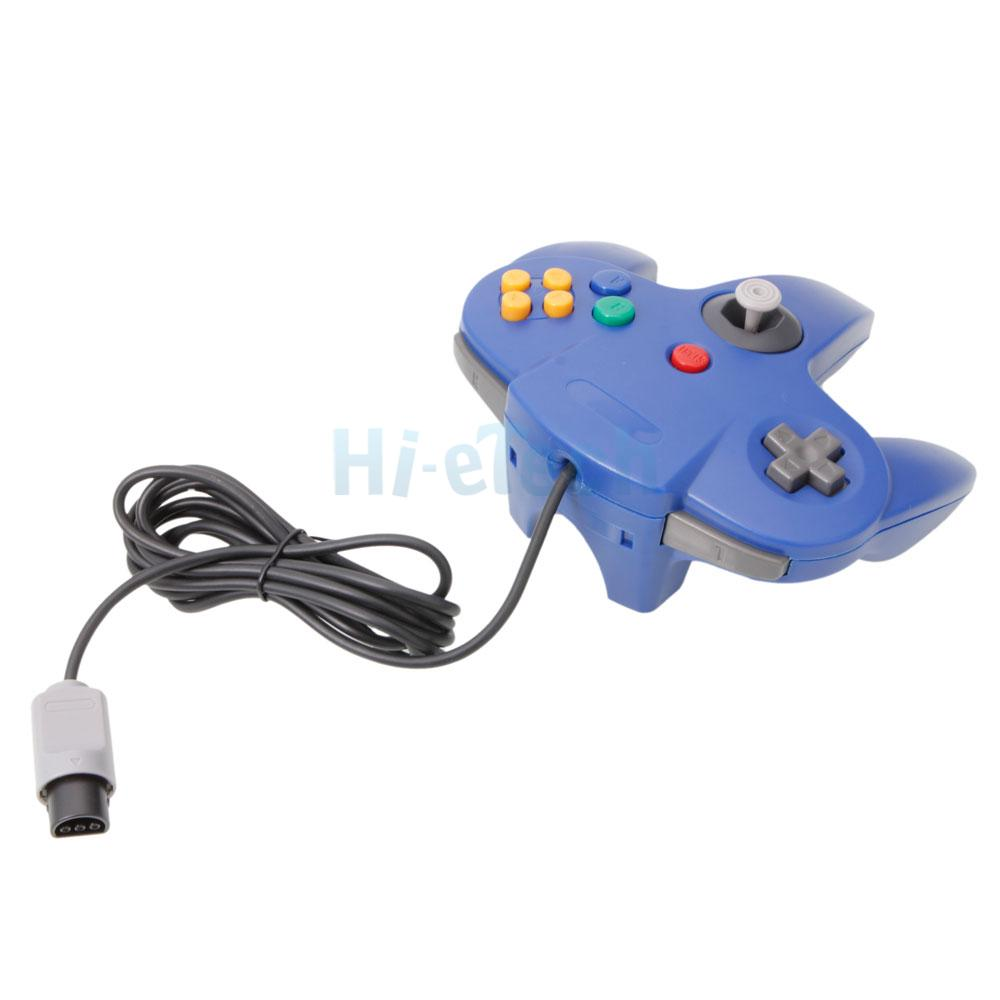 Brand New Blue Game Controller JoyPad Joystick For Nintendo 64 N64 System | eBay