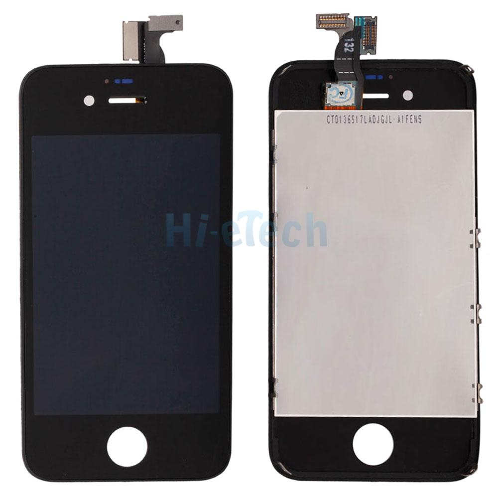 iphone 4 screw template - black for apple iphone 4s lcd touch screen digitizer