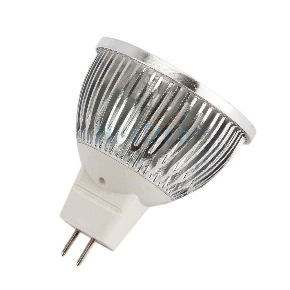 lot5 x 4w mr16 4w 12v 4led flat fluorescent light lamp bulb spotlight white hot ebay. Black Bedroom Furniture Sets. Home Design Ideas