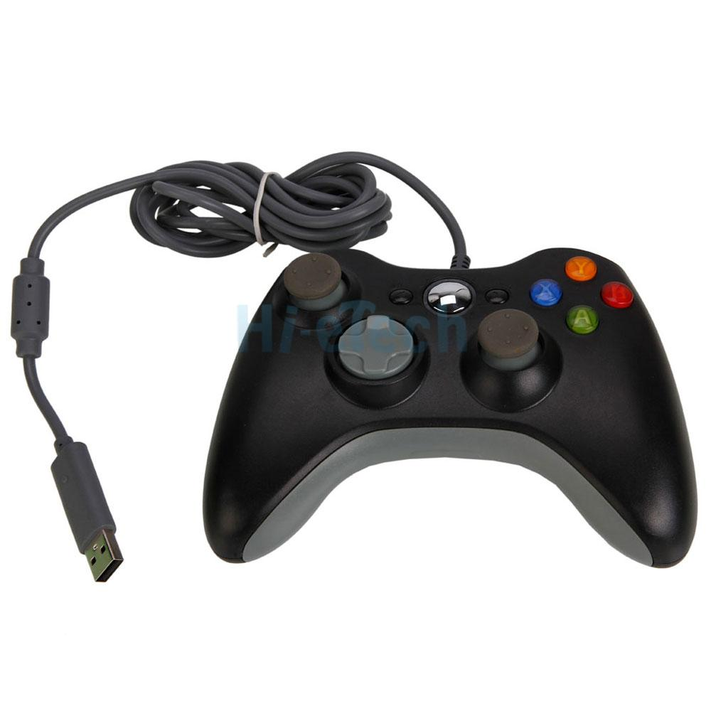 New Xbox360 Wired USB Game Controller for Xbox 360 Slim PCXbox 360 Controller Wired